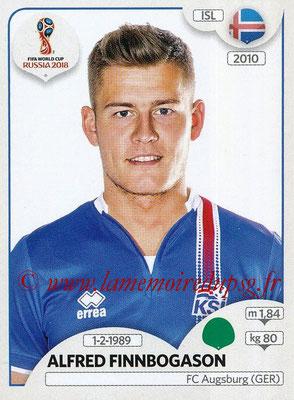 2018 - Panini FIFA World Cup Russia Stickers - N° 308 - Alfred FINNBOGASON (Islande)