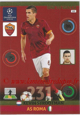 2014-15 - Adrenalyn XL champions League N° 223 - Kevin STROOTMAN (AS Roma) (One to watch)