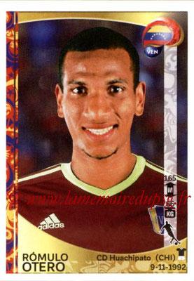 Panini Copa America Centenario USA 2016 Stickers - N° 295 - Romulo OTERO (Venezuela)
