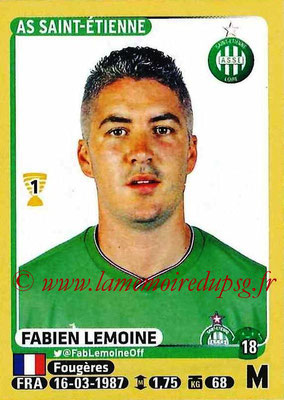 2015-16 - Panini Ligue 1 Stickers - N° 426 - Fabien LEMOINE (AS Saint-Etienne)
