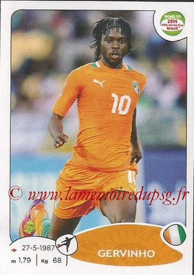 2014 - Panini Road to FIFA World Cup Brazil Stickers - N° 394 - GERVINHO (Côte d'Ivoire)