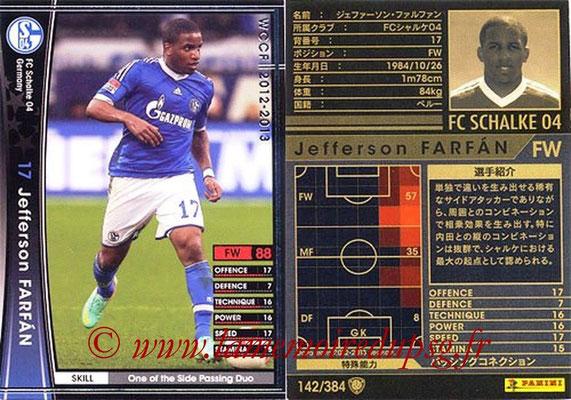 2012-13 - WCCF - N° 142 - Jefferson FARFAN (FC Schalke 04)