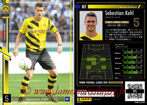 Panini Football League 2015 - PFL09 - N° 089 - Sebastian KEHL (Borussia Dortmund)