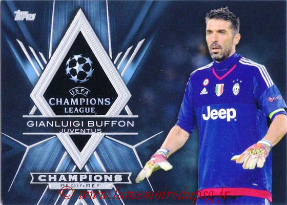 2015-16 - Topps UEFA Champions League Showcase Soccer - N° CP-GB - Gianluigi BUFFON (Juventus FC) (Champions Pedigree)