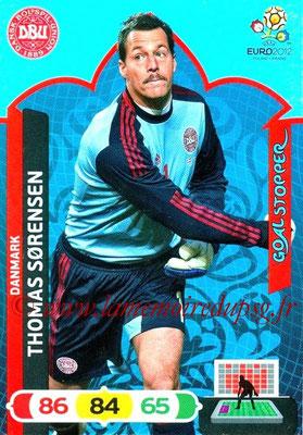 Panini Euro 2012 Cards Adrenalyn XL - N° 227 - Thomas SORENSEN (Dannemark) (Goal Stopper)
