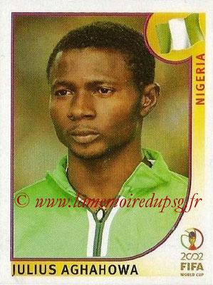 2002 - Panini FIFA World Cup Stickers - N° 420 - Julius AGHAHOWA (Nigéria)