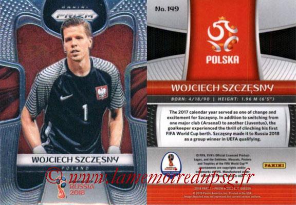 2018 - Panini Prizm FIFA World Cup Russia - N° 149 - Wojciech SZCZESNY (Pologne)