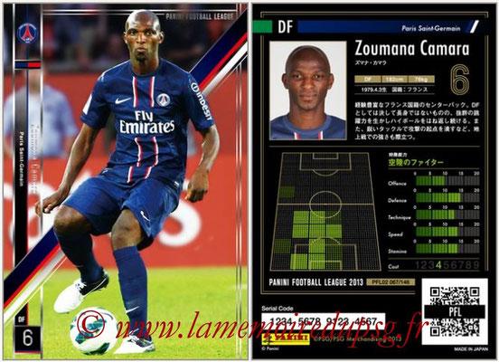 Panini Football League 2013 - PFL02 - N° 067 - Zoumana Camara ( Paris Saint-Germain )
