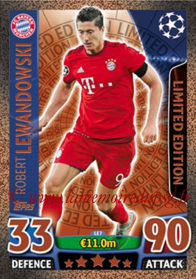 2015-16 - Topps UEFA Champions League Match Attax - N° LE7 - Robert LEWANDOWSKI (FC Bayern Munich) (Limited Edition Bronze)