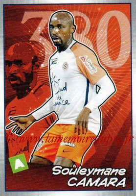 2017-18 - Panini Ligue 1 Stickers - N° 524 - Souleymane CAMARA (Montpellier) (Choc des Experts)