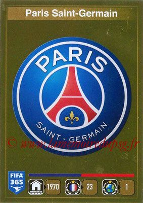 2015-16 - Panini FIFA 365 Stickers - N° 431 - Ecusson Paris Saint-Germain