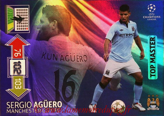 2012-13 - Adrenalyn XL champions League N° 349 - Sergio AGUERO (Manchester City FC) (Top Master)