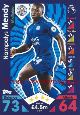 2016-17 - Topps Match Attax Premier League - N° 137