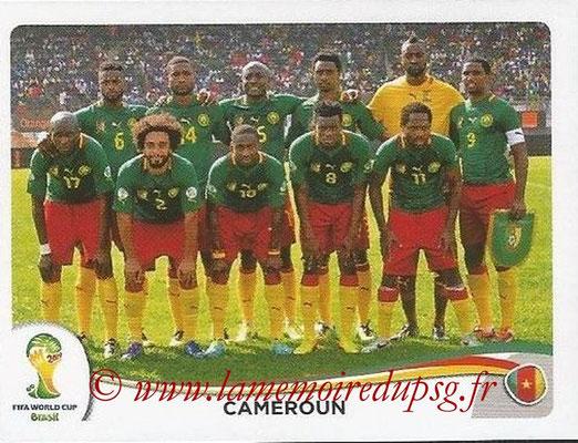 2014 - Panini FIFA World Cup Brazil Stickers - N° 090 - Equipe Cameroun
