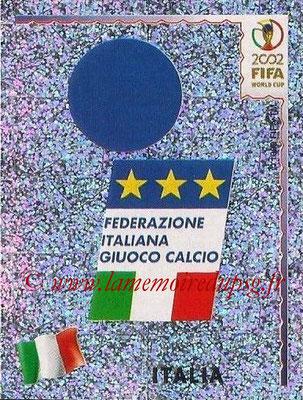 2002 - Panini FIFA World Cup Stickers - N° 458 - Logo Italie