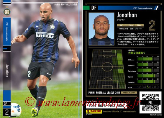 Panini Football League 2014 - PFL07 - N° 015 - JONATHAN (Inter)