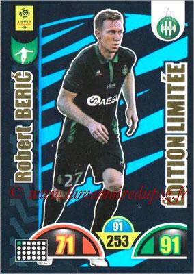 2018-19 - Panini Adrenalyn XL Ligue 1 - N° LE-RB - Robert BERIC (Saint-Etienne) (Edition Limitée)