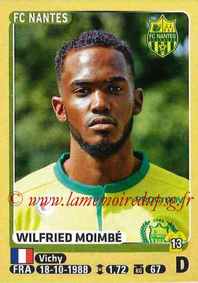 2015-16 - Panini Ligue 1 Stickers - N° 297 - Wilfried MOIMBE (FC Nantes)