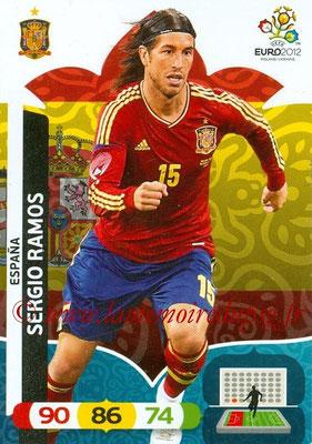 Panini Euro 2012 Cards Adrenalyn XL - N° 061 - Sergio RAMOS (Espagne)