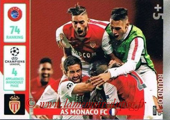 2014-15 - Adrenalyn XL champions League Update edition N° UE011 - AS Monaco (Round of 16)