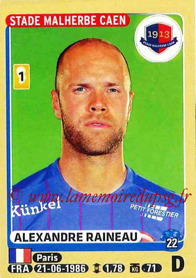 2015-16 - Panini Ligue 1 Stickers - N° 107 - Alexandre RAINEAU (SM Caen)