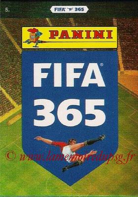 2015-16 - Panini Adrenalyn XL FIFA 365 - N° 005 - Logo Panini FIFA 365