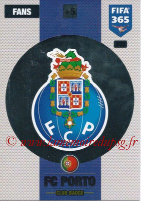 2016-17 - Panini Adrenalyn XL FIFA 365 - N° 248 - Logo FC Porto (Club Badge)