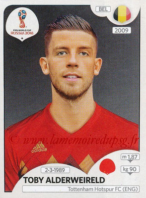 2018 - Panini FIFA World Cup Russia Stickers - N° 515 - Toby ALDERWEIRELD (Belgique)