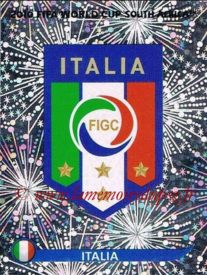 2010 - Panini FIFA World Cup South Africa Stickers - N° 411 - Logo Italie