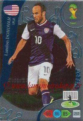 2014 - Panini FIFA World Cup Brazil Adrenalyn XL - N° 387 - Landon DONOVAN (Etats-Unis) (Expert)