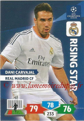 2013-14 - Adrenalyn XL champions League N° 237 - Dani CARVAJAL (Real Madrid CF) (Rising Star)