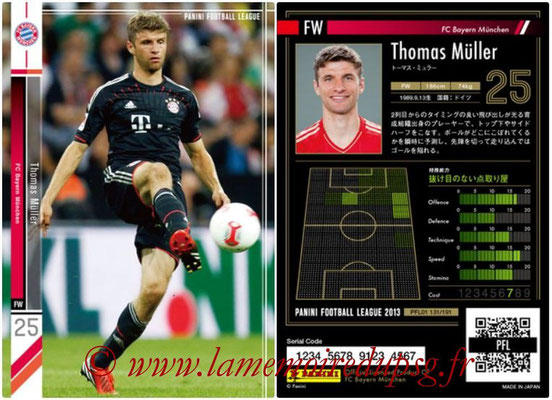 Panini Football League 2013 - PFL01 - N° 131 - Thomas Muller ( FC Bayern Munchen )