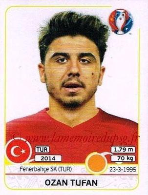 Panini Euro 2016 Stickers - N° 414 - Ozan TUFAN (Turquie)