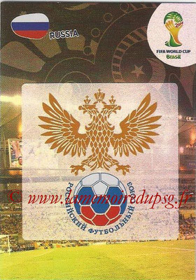2014 - Panini FIFA World Cup Brazil Adrenalyn XL - N° 280 - Logo Russie