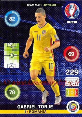 Panini Euro 2016 Cards - N° 304 - Gabriel TORJE (Roumanie) (Dynamo)