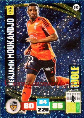 2016-17 - Panini Adrenalyn XL Ligue 1 - N° 393 - Benjamin MOUKANDJO (Lorient) (Idole)
