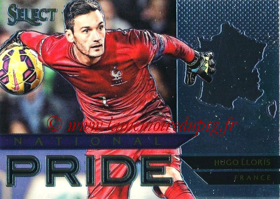 2015 - Panini Select Soccer - N° NP17 - Hugo LLORIS (France) (National Pride)