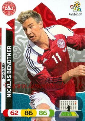 Panini Euro 2012 Cards Adrenalyn XL - N° 024 - Nicklas BENDTNER (Danemark)