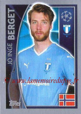 2015-16 - Topps UEFA Champions League Stickers - N° 072 - Jo Inge BERGET (Malmö FF)