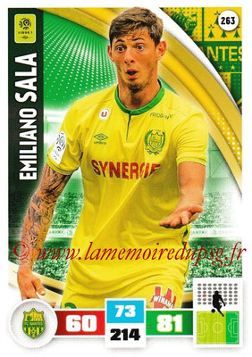 2016-17 - Panini Adrenalyn XL Ligue 1 - N° 263 - Emiliano SALA (Nantes)