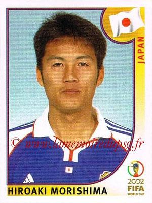 2002 - Panini FIFA World Cup Stickers - N° 540 - Hiroaki MORISHIMA (Japon)