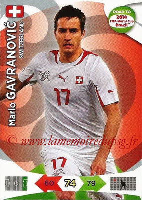 2014 - Panini Road to FIFA World Cup Brazil Adrenalyn XL - N° 181 - Mario GAVRANOVIC (Suisse)