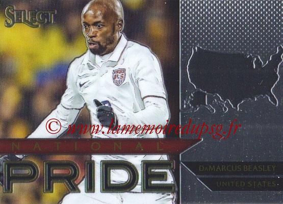 2015 - Panini Select Soccer - N° NP44 - Damarcus BEASLEY (États Unis) (National Pride)