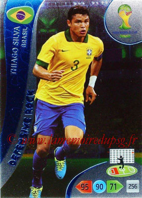 2014 - Panini FIFA World Cup Brazil Adrenalyn XL - N° 363 - Thiago SILVA (Brésil) (Defensive rock)