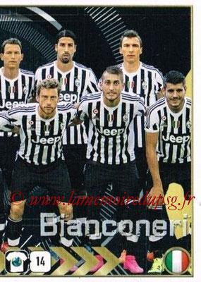 2015-16 - Panini FIFA 365 Stickers - N° 568 - Equipe Juventus FC 2