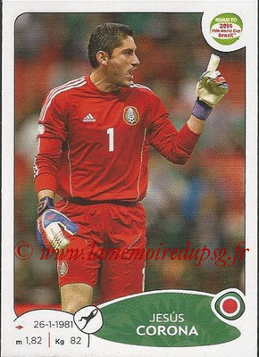 2014 - Panini Road to FIFA World Cup Brazil Stickers - N° 243 - Jesus CORONA (Mexique)
