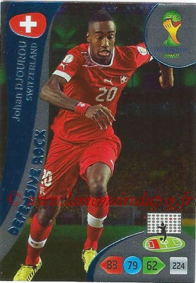 2014 - Panini FIFA World Cup Brazil Adrenalyn XL - N° 378 - Johan DJOUROU (Suisse) (Defensive Rock)