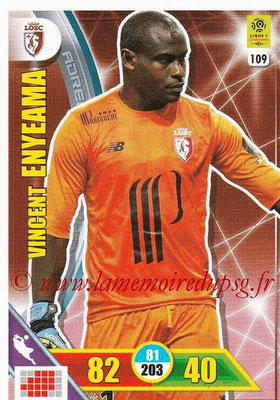 2017-18 - Panini Adrenalyn XL Ligue 1 - N° 109 - Vincent ENYEAMA (Lille)
