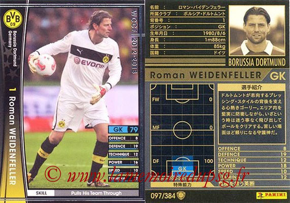 2012-13 - WCCF - N° 097 - Roman WEIDENFELLER (Borussia Dortmund)