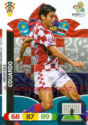Panini Euro 2012 Cards Adrenalyn XL - N° 113 - EDUARDO (Croatie)